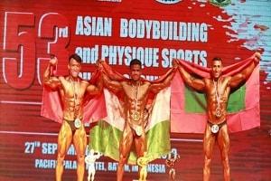 Maj AQ Khan won silver medal
