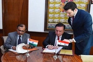 MoU between Syria and India