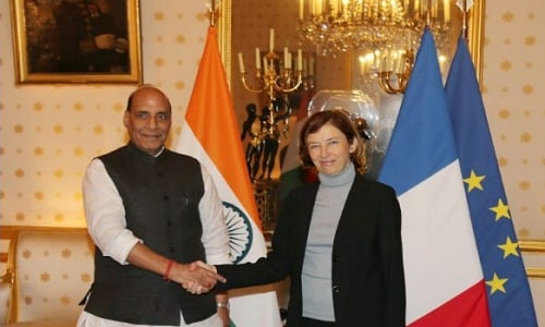 Mr Rajnath Singh's visit to France