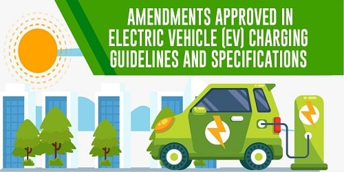 RK Singh approved amendments in E-vehicle charging guidelines
