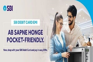 State Bank launches debit card with EMI