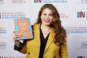 Writer Caroline criado perez wins Royal society science book prize 2019