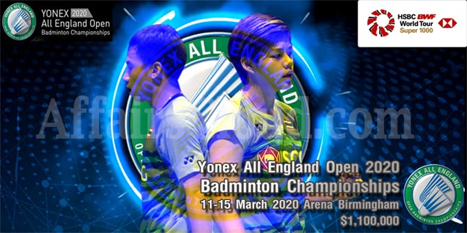 112th edition of All England Open 2020 held at Birmingham arena ...