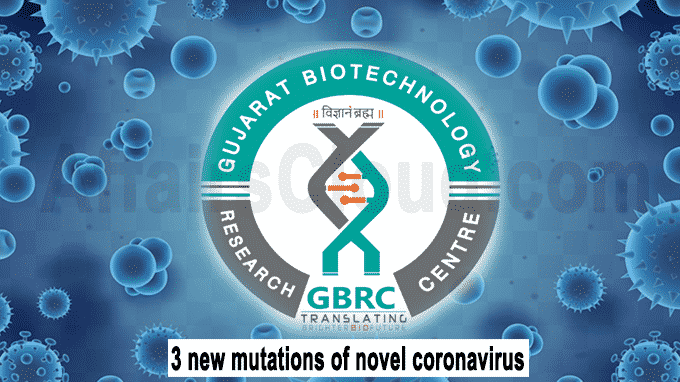3 new mutations of novel coronavirus