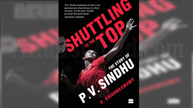 A book titled Shuttling to the Top The Story of P