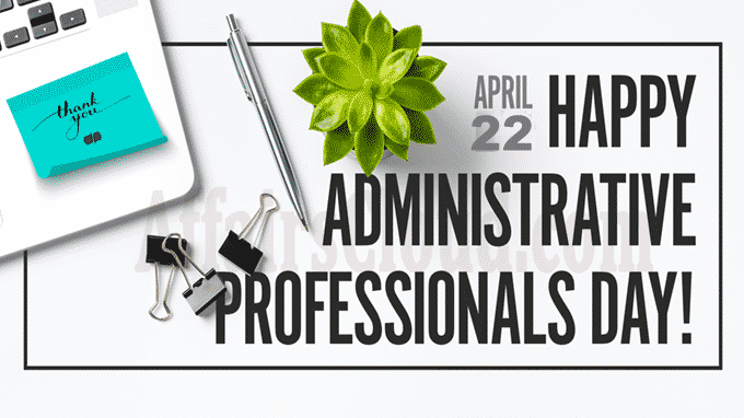 Administrative Professionals' Day 2020