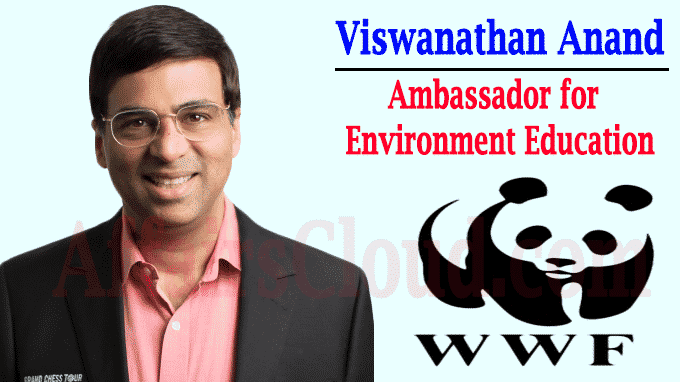 Anand ambassador for environment education