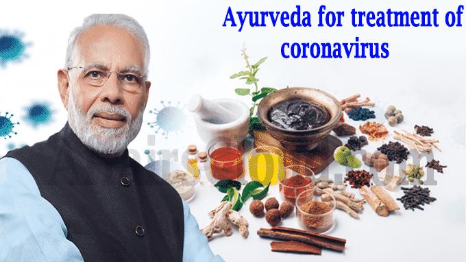 Ayurveda for treatment of coronavirus
