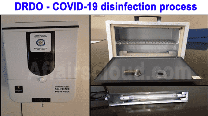 COVID-19 disinfection process