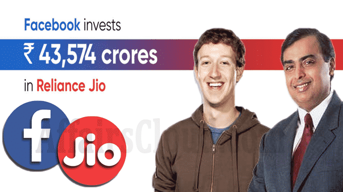 Facebook buys stake in Reliance Jio