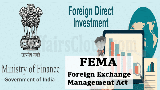 FinMin notifies changes in FDI policy under FEMA