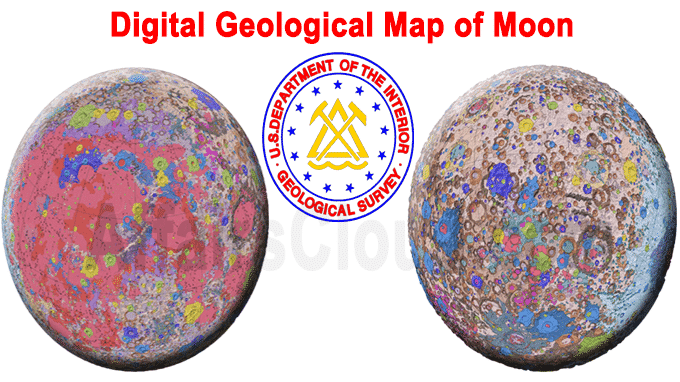 First-ever digital geological map of moon
