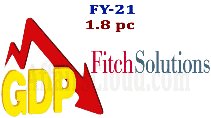Fitch Solution cuts India's FY21 GDP