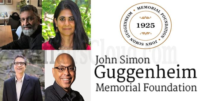 Four Indian-Americans awarded 2020 Guggenheim fellowships