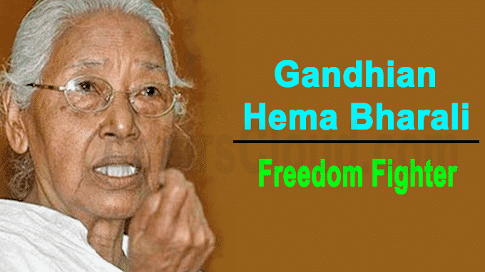 Freedom fighter Gandhian Hema Bharali dies