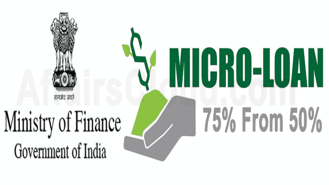 Govt increases loss coverage for micro loan