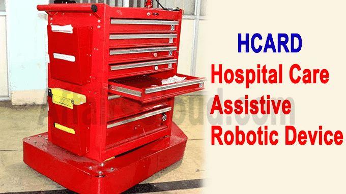 HCARD, in short for Hospital Care Assistive Robotic Device