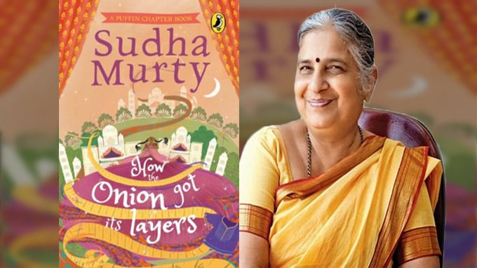 How the Onion Got Its Layers authored by sudha murthy