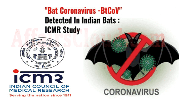 ICMR study finds presence of bat coronavirus