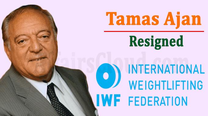 IWF President Tamas Ajan Steps Down