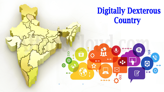 India Digitally dexterous country