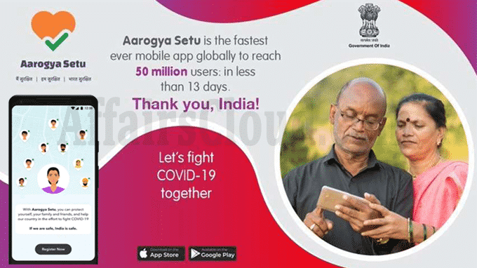 India's Aarogya Setu world's highest downloaded app
