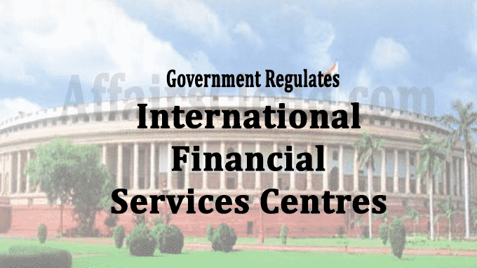 International Financial Services Centres