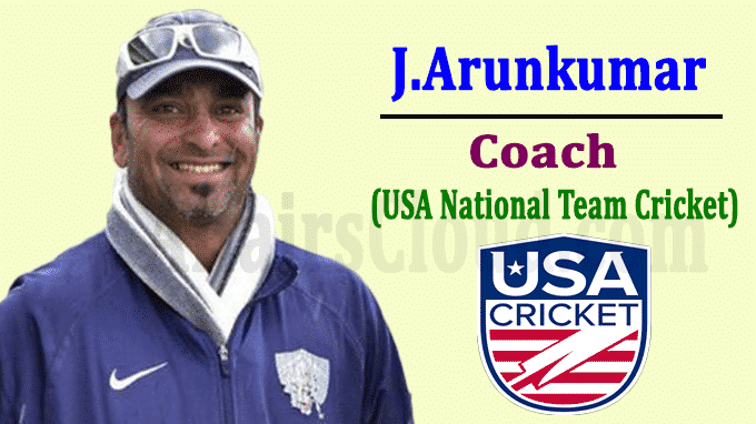 J Arunkumar USA national team coach