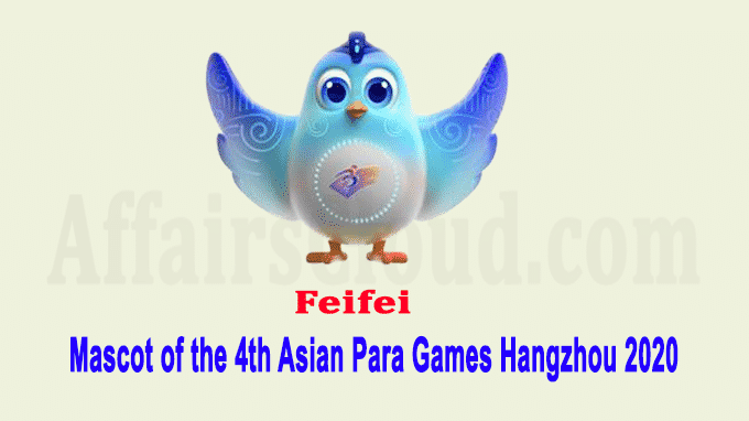 Mascot for Hangzhou 2022 Asian Para Games