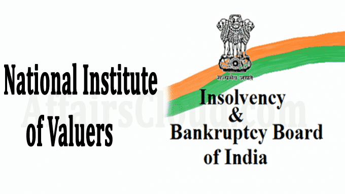 MS Sahoo Panel proposed National Institute of Valuers for ...