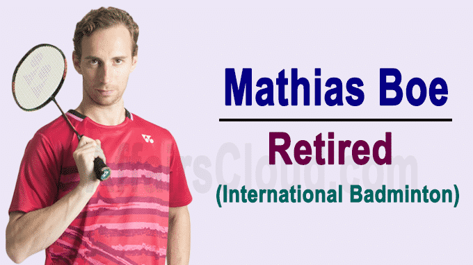Olympic medallist Mathias Boe Retaired