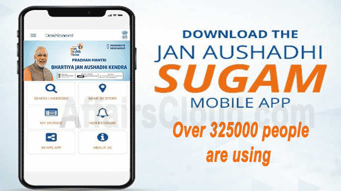 Over 325000 people are using Janaushadhi Sugam