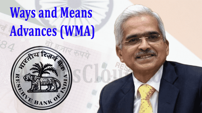 RBI ways and means advances