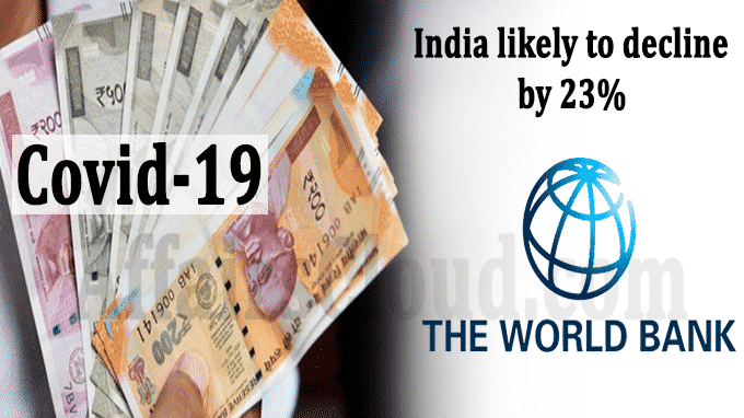Remittances to India likely to decline by 23 percent