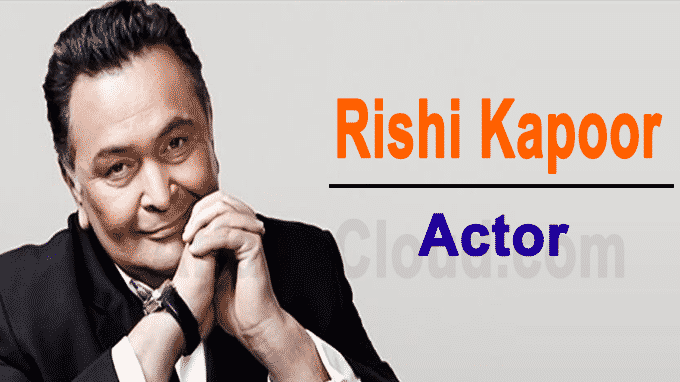 Rishi Kapoor veteran Hindi actor