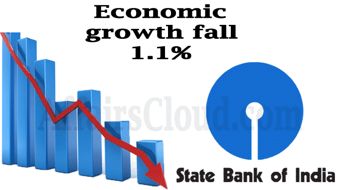 SBI Economic growth may fall