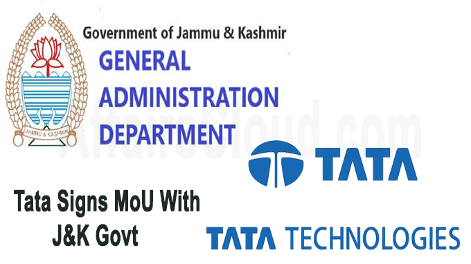 Tata Signs MoU With J&K Govt