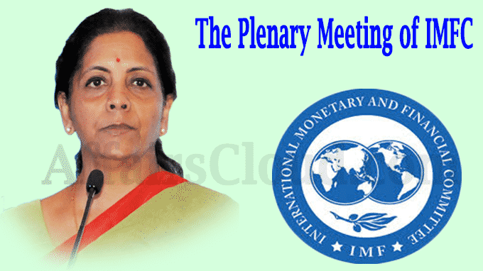 The Plenary Meeting of IMFC