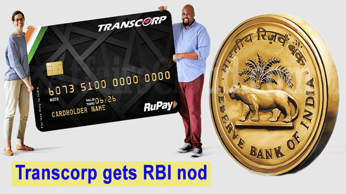 Transcorp gets RBI nod to issue co-branded prepaid cards