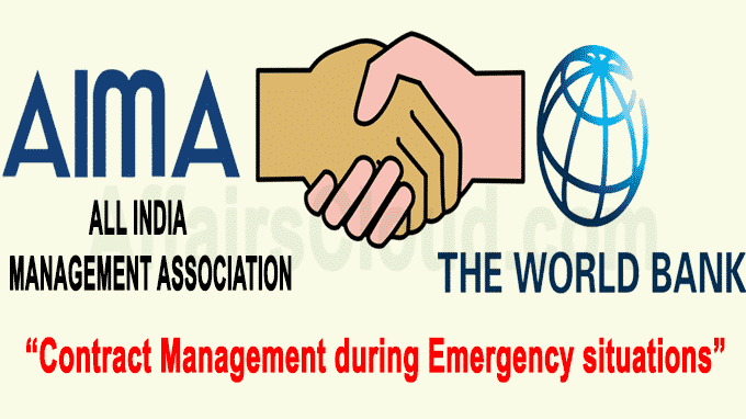 World Bank in collab with AIMA