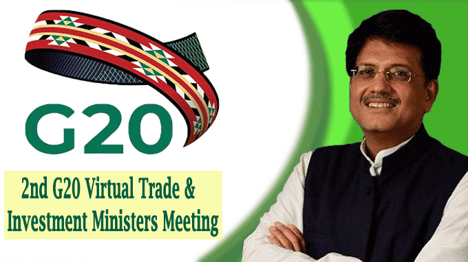 2nd G20 Virtual Trade & Investment Ministers Meeting
