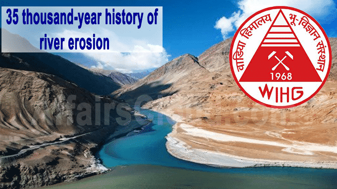 35 thousand-year history of river erosion