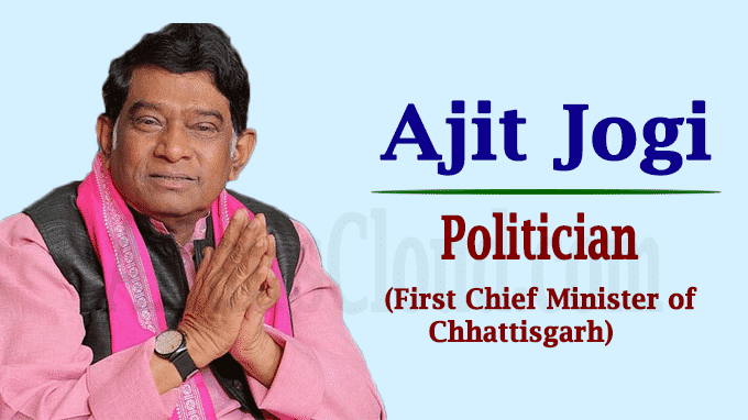 Ajit Jogi, Chhattisgarh first CM
