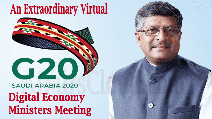 An extraordinary virtual G20 Digital Economy Ministers meeting