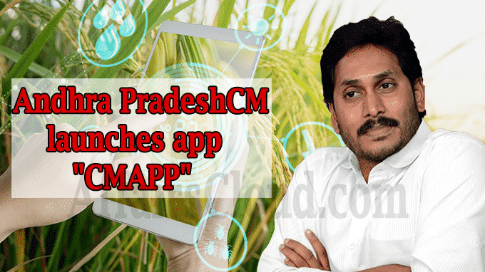 Andhra CM launches app CMAPP