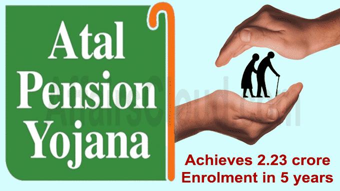 Atal Pension Yojana achieves 2