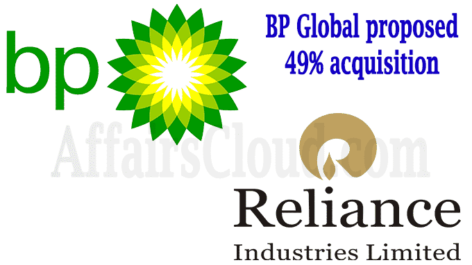 BP Global proposed 49% acquisition