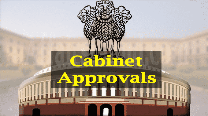 Cabinet approvals May 20