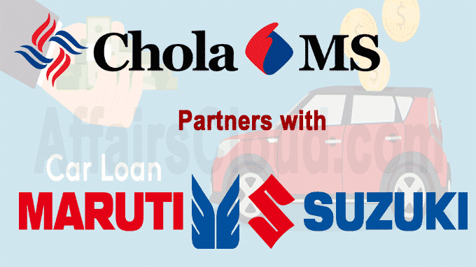 Cholamandalam partners with Maruti Suzuki