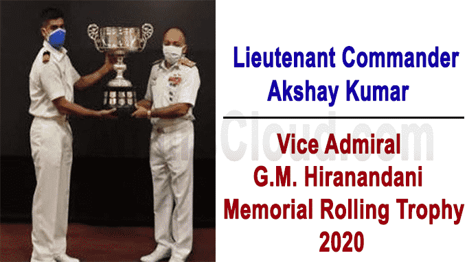Commander Akshay Kumar awarded G